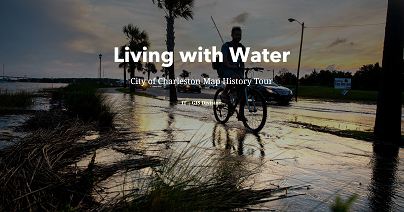 Living with Water Storymap preview
