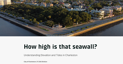 Seawall storymap preview